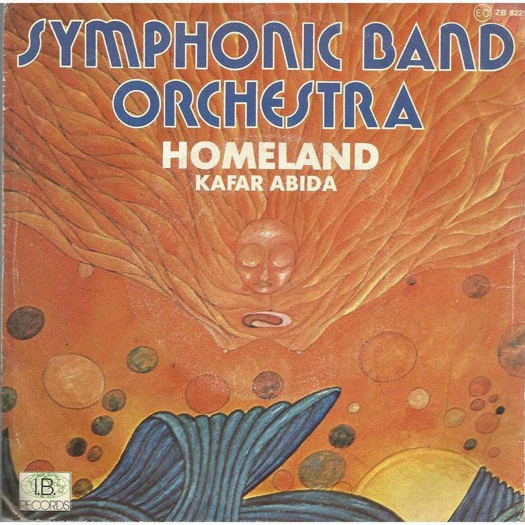 SYMPHONIC BAND ORCHESTRA homeland / kafar abida