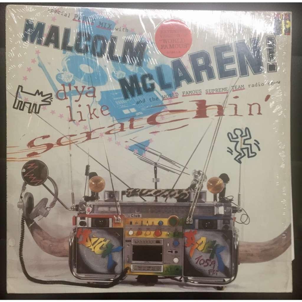 Malcolm mclaren & world's famous supreme team d'ya like scratchin'