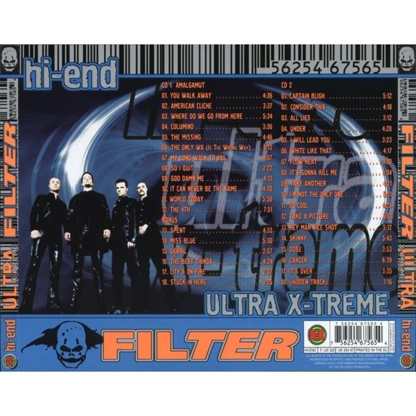 Filter The Amalgamut (Hi-End Ultra X-Treme) 2CD (Factory-Sealed)