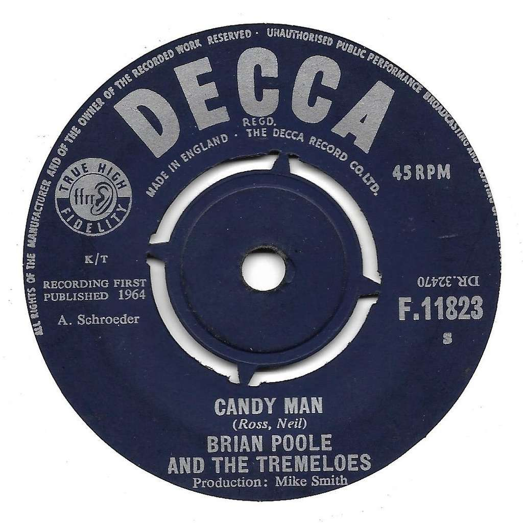 Poole Brian & Tremeloes (The) Candy man