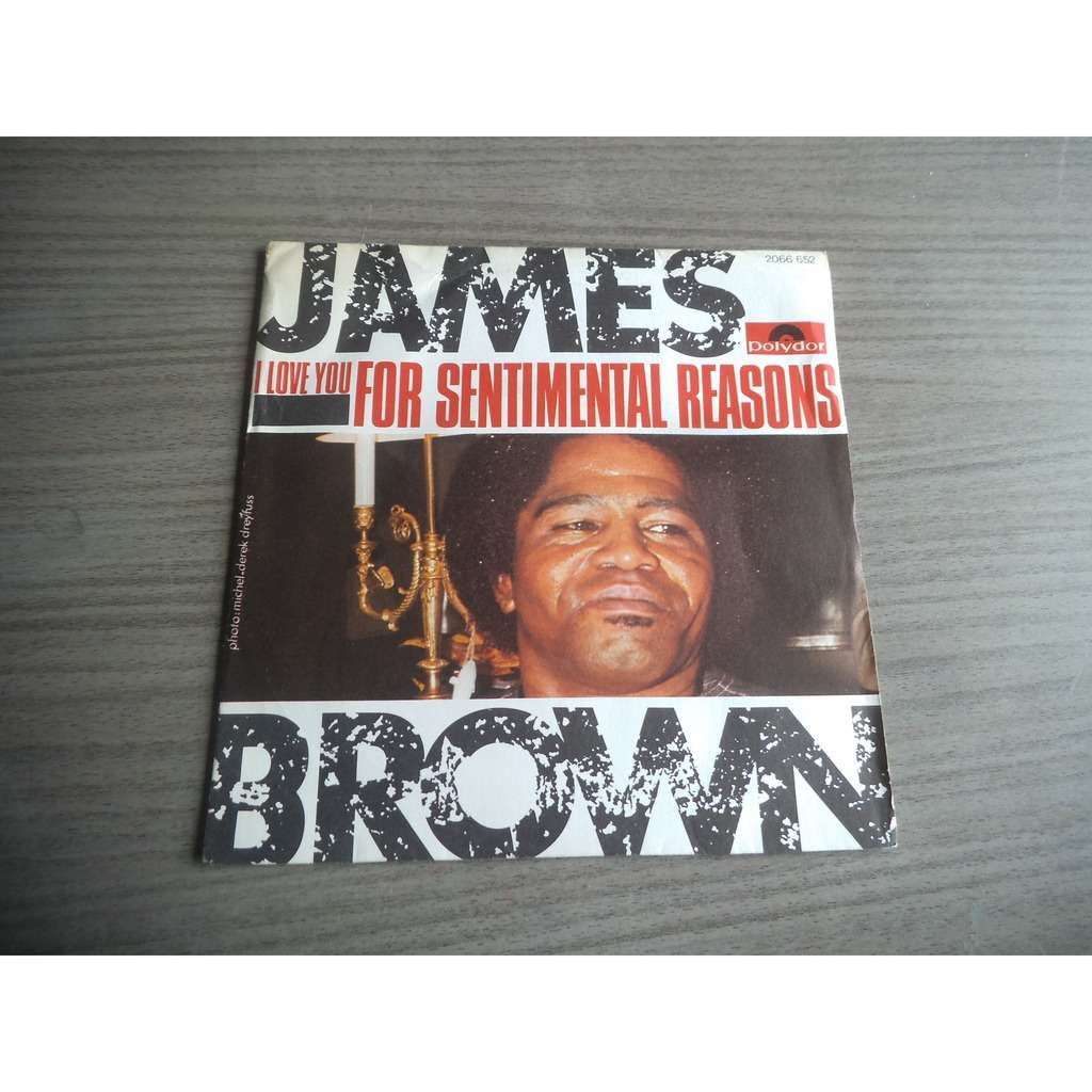 james brown (I love you) for sentimental reasons / Goodnight my love