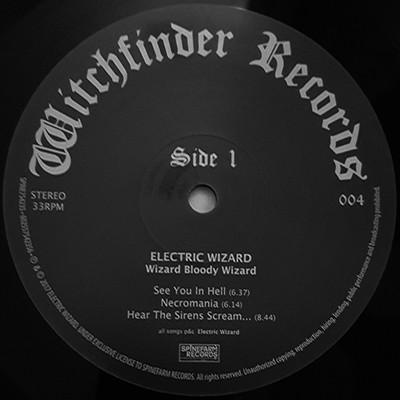 ELECTRIC WIZARD Wizard Bloody Wizard