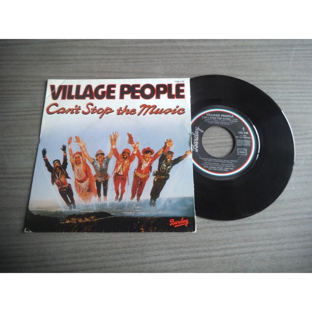 VILLAGE PEOPLE can't stop the music / milkshake