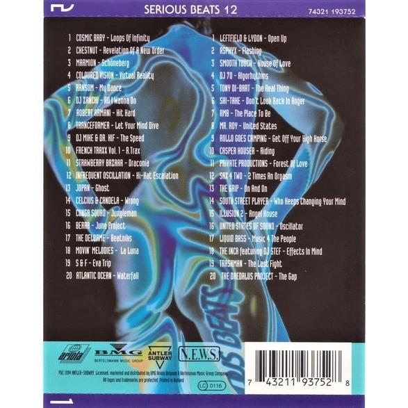 Robert Armani , DJ Mike & Dr. Kif, Jopan, The Inca Serious Beats 12