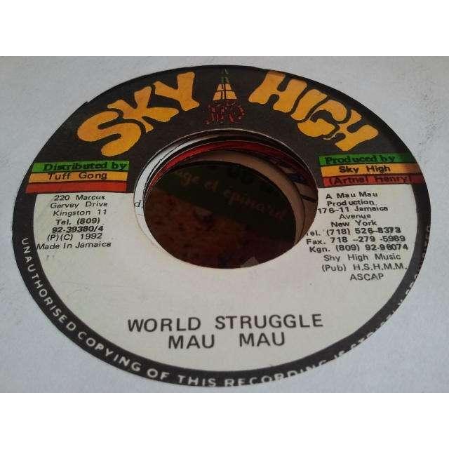 Mau Mau / Devon Clarke World Struggle / Gimme De Reason ORIG.