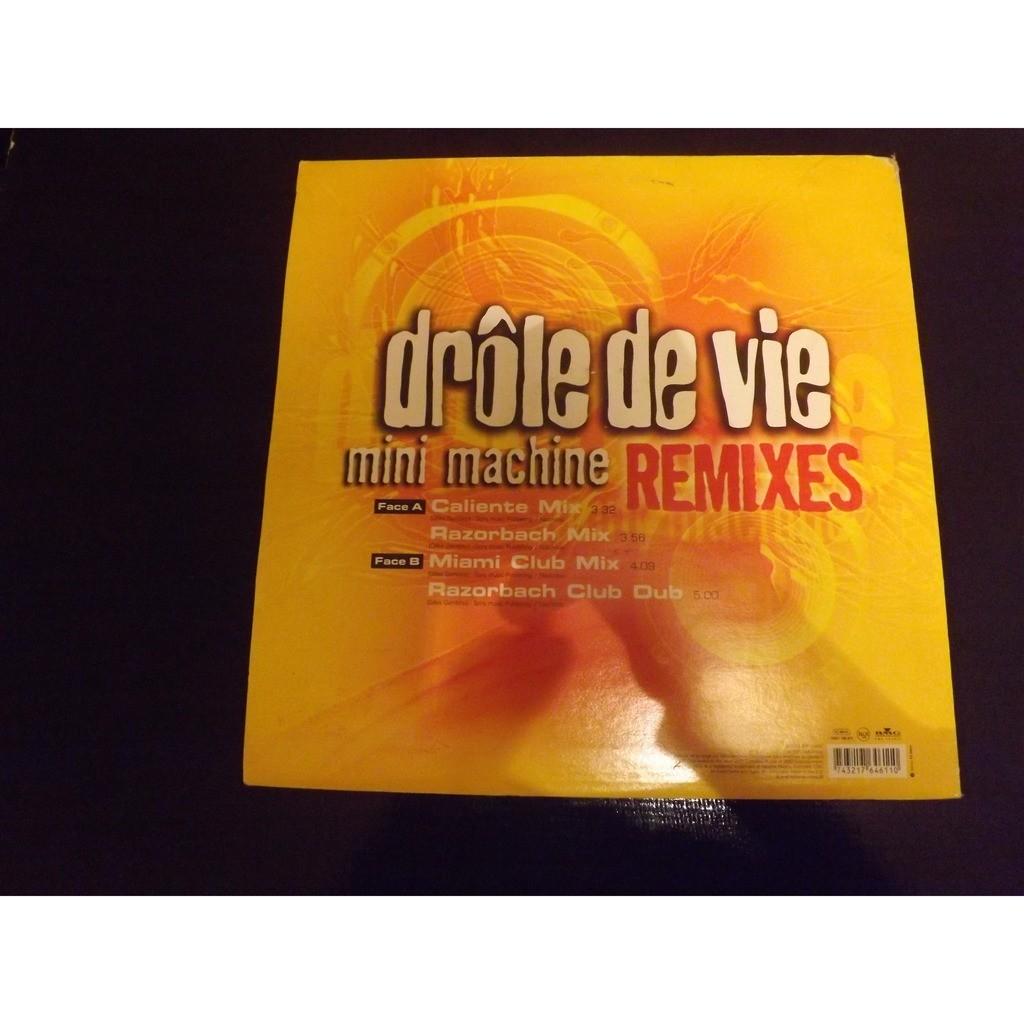 Mini Machine - Drôle De Vie (Remixes) Mini Machine - Drôle De Vie (Remixes)