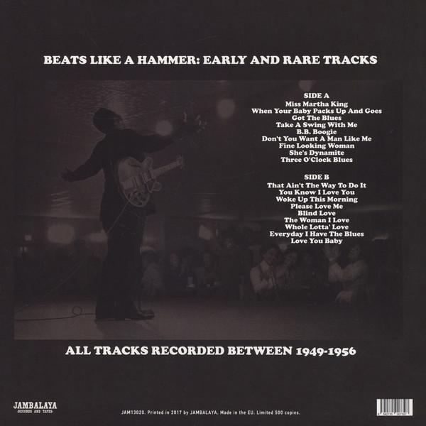 B.B. King Beats Like A Hammer Early And Rare Tracks