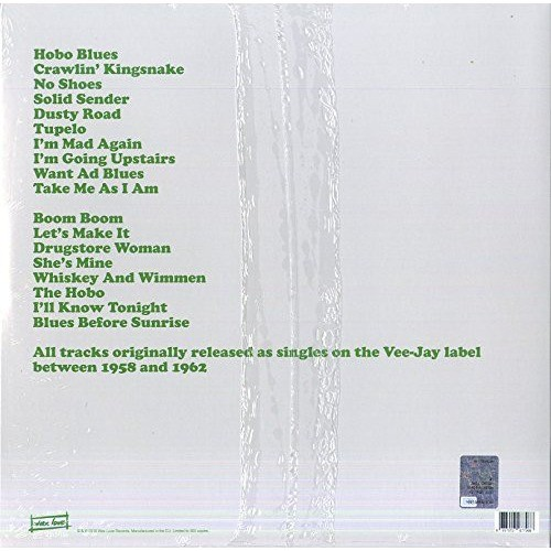John Lee Hooker Boom Boom : Vee-Jay Singles 1959-1962
