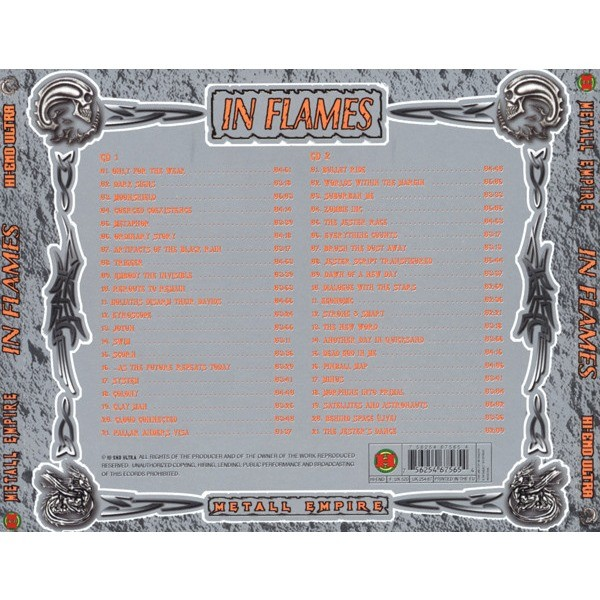 In Flames Hi-End Ultra - Metall Empire (2CD greatest hits compilation) Halahup
