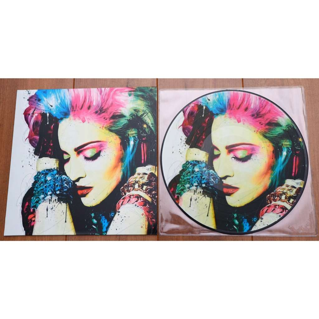 Madonna Fever in Cologne / Special Limited Edition Picture Disc for MDNA Fan Club Canada