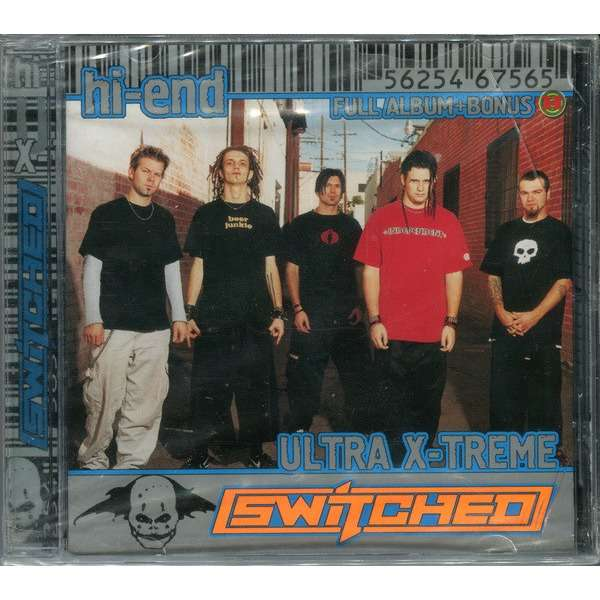 Switched + Strongarm Hi-End Ultra X-Treme: Subject To Change / Atonement (2 albums on 1 CD) Factory-Sealed