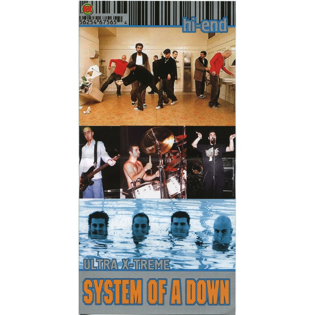 System Of A Down Hi-End Ultra X-Treme (2CD greatest hits compilation) Halahup