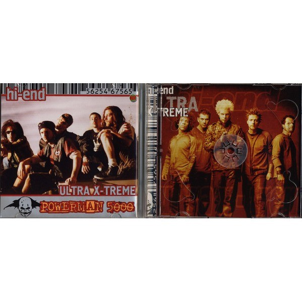 Powerman 5000 + Rob Zombie The Best (Hi-End Ultra X-Treme) (2CD greatest hits compilation) Halahup