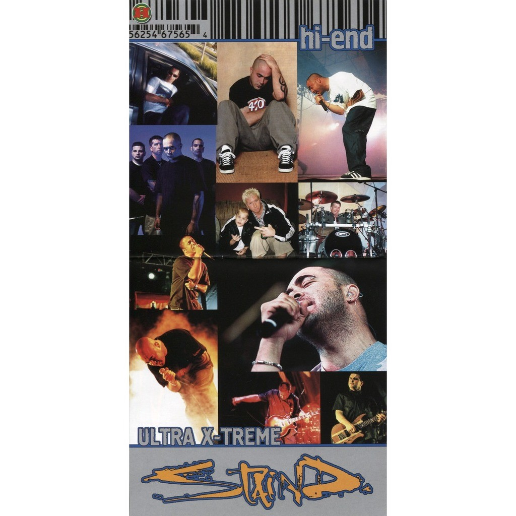 Staind Hi-End Ultra X-Treme (1CD greatest hits compilation) Halahup