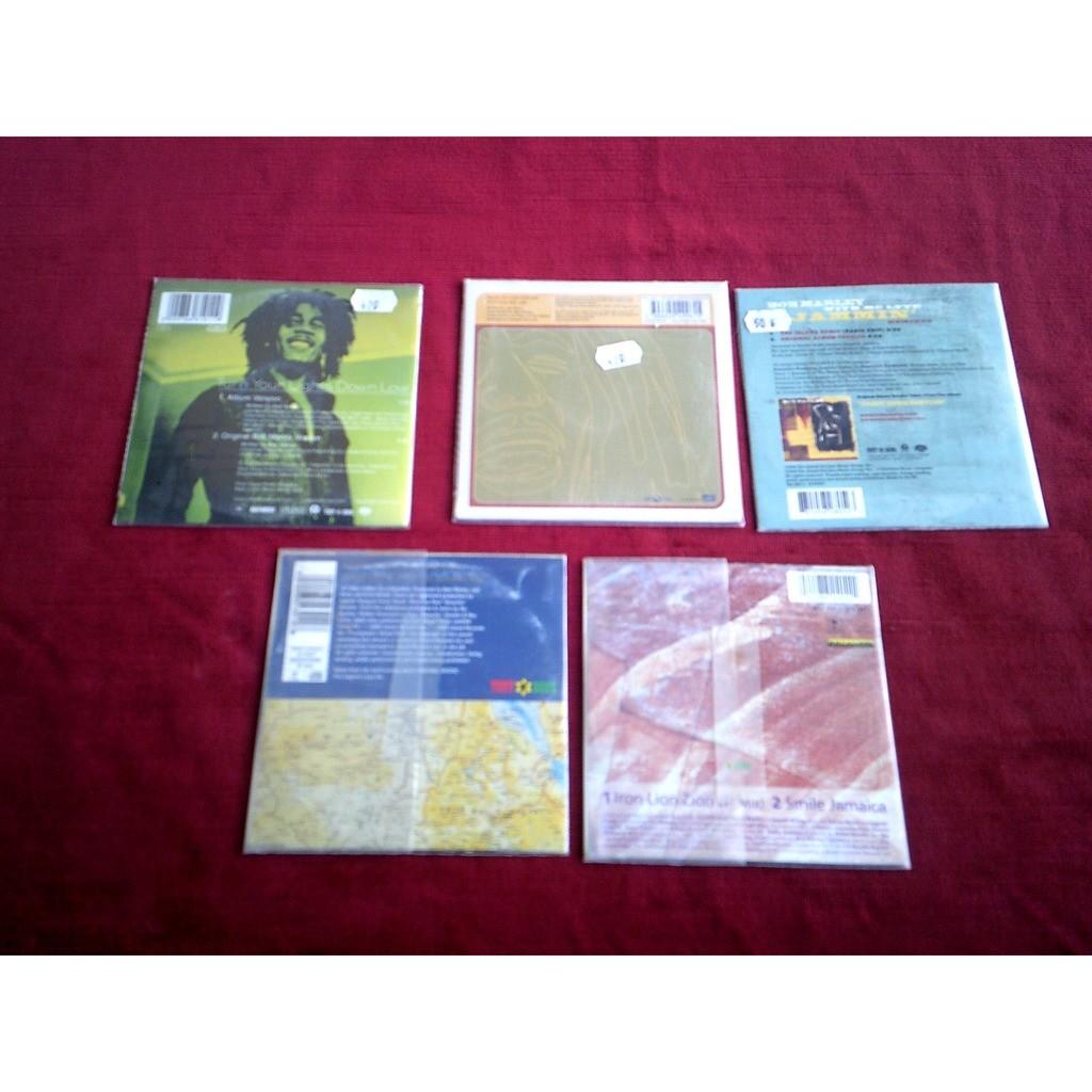 bob marley COLLECTION DE 5 CD SINGLE