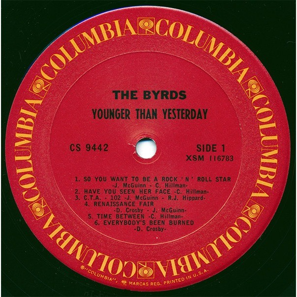 The Byrds Younger Than Yesterday