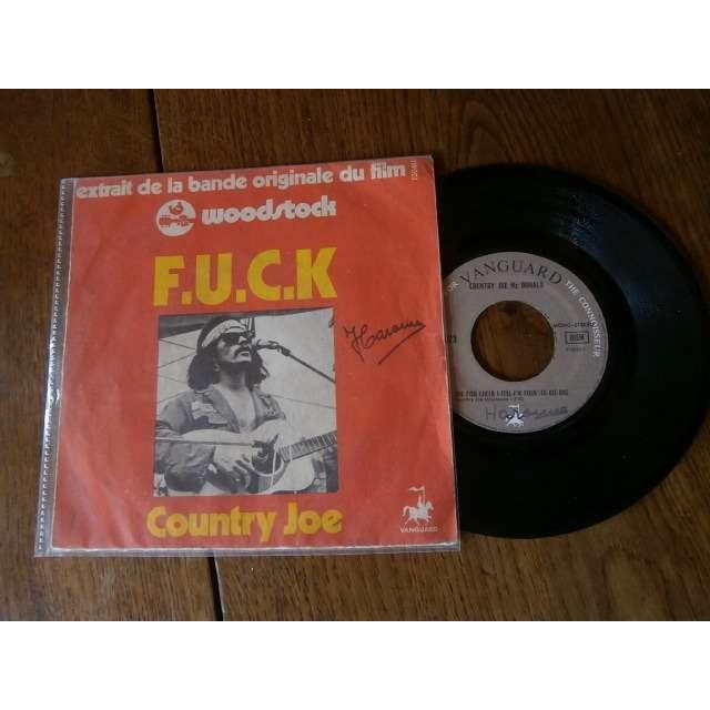 country joe & the fish F.u.c.k