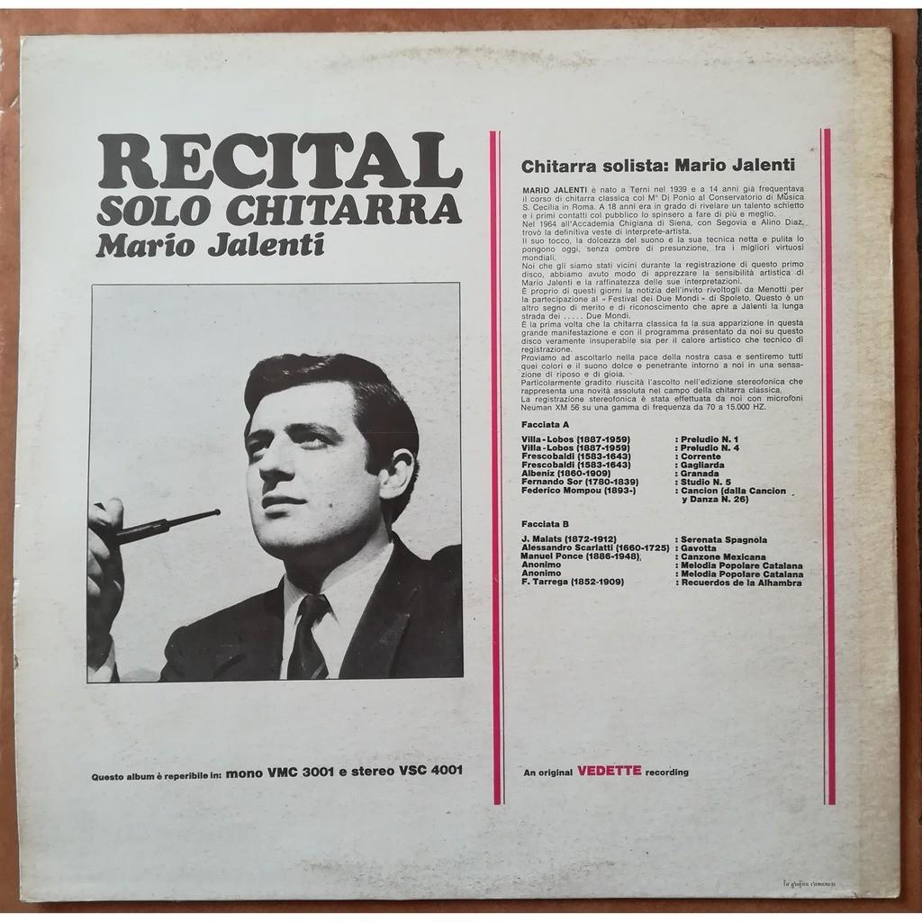 mario jalenti recital (solo guitar)