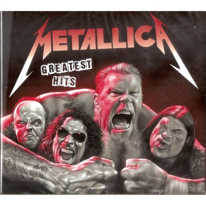 Metallica The Best 2 CD New Sealed Worldwide Free Shipping