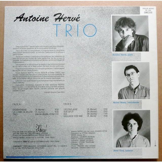 Antoine Hervé Trio Antoine Hervé Trio