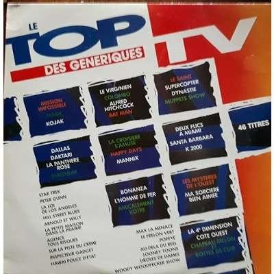 divers (various artists) le top des séries TV