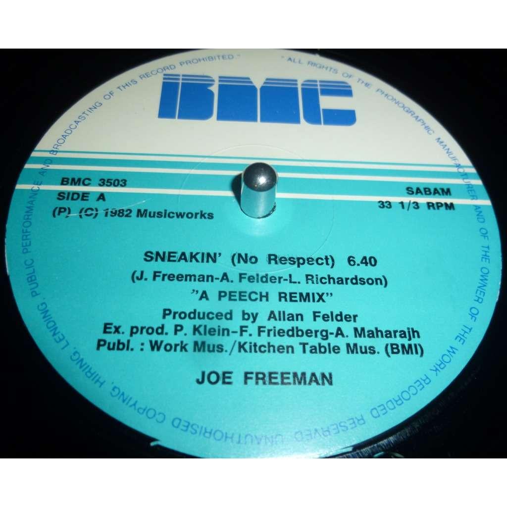 joe freeman sneakin' (no respect) / sneaky rhythm