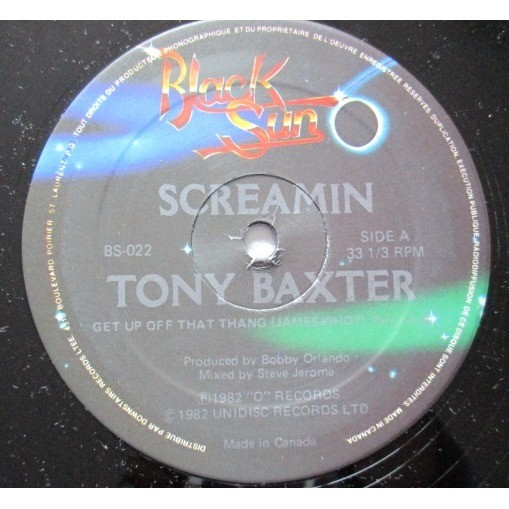 TONY BAXTER screamin (part 1 & 2)