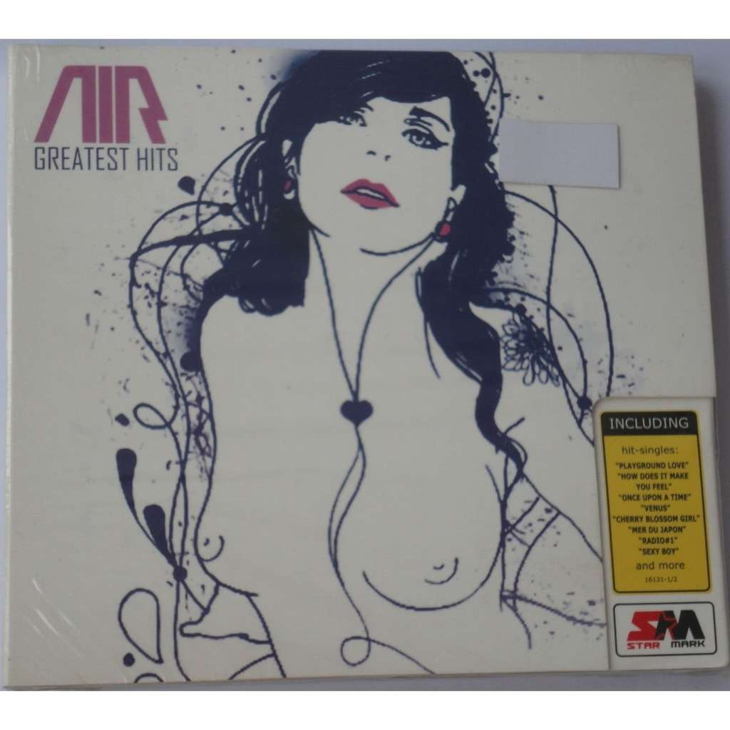 AIR Greatest Hits (2007) 2CD Digipak New & Factory-Sealed