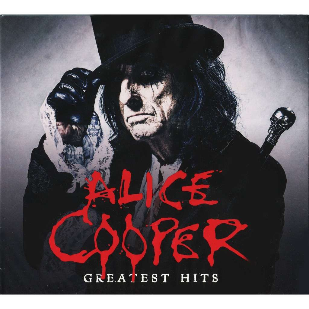 ALICE COOPER Greatest Hits (2017) 2CD Digipak New & Factory-Sealed