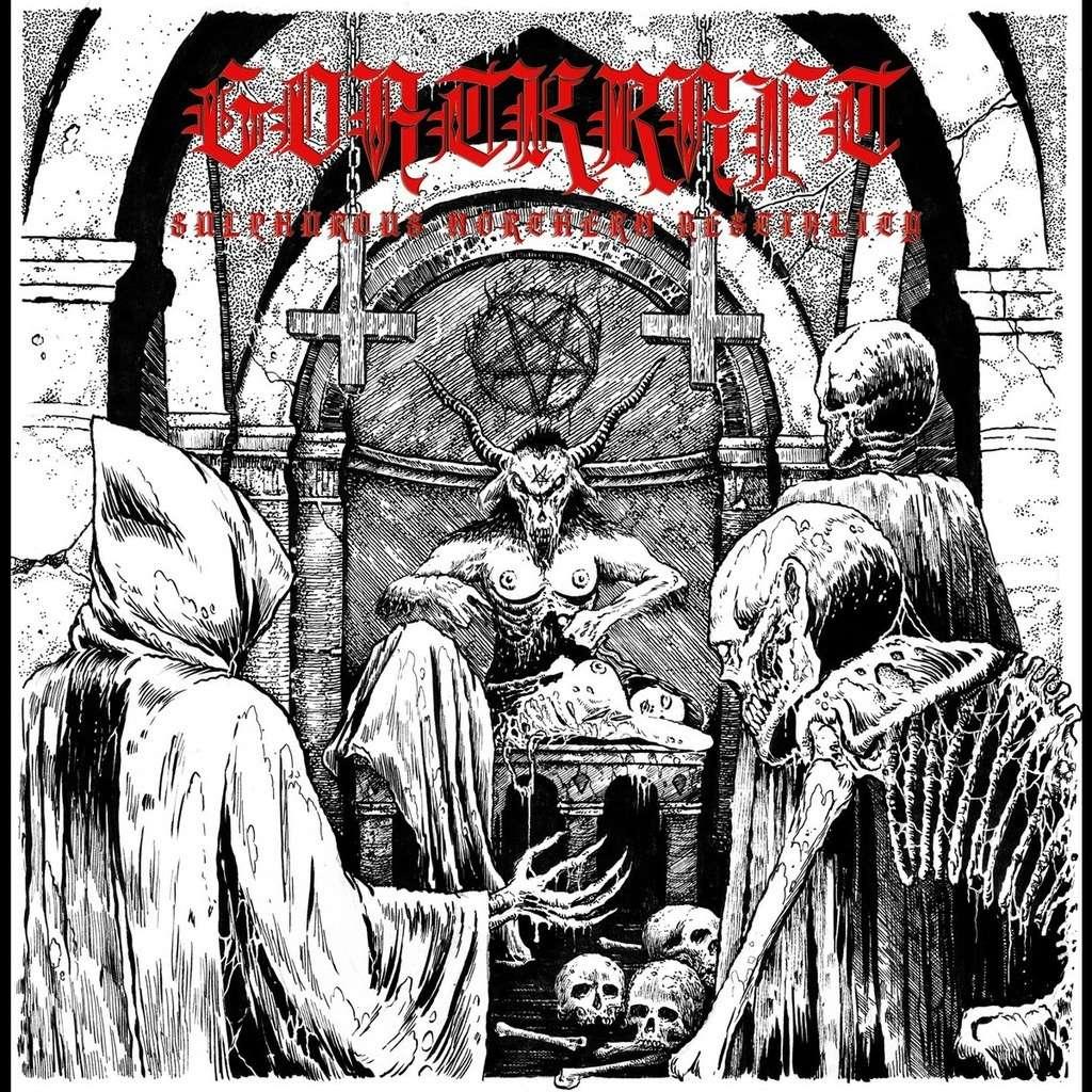 GOATKRAFT Sulphurous Northern Bestiality. Black Vinyl
