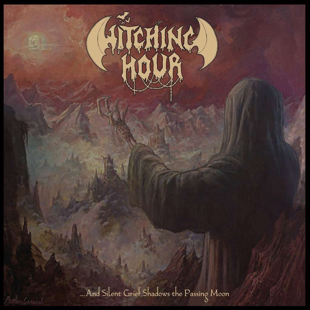 WITCHING HOUR And Silent Grief Shadows The Passing Moon. Black Vinyl