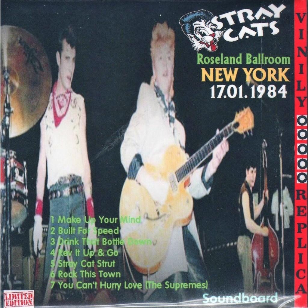 Stray Cats Live At 'Roseland Ballroom' (NY USA 17.01.1984)