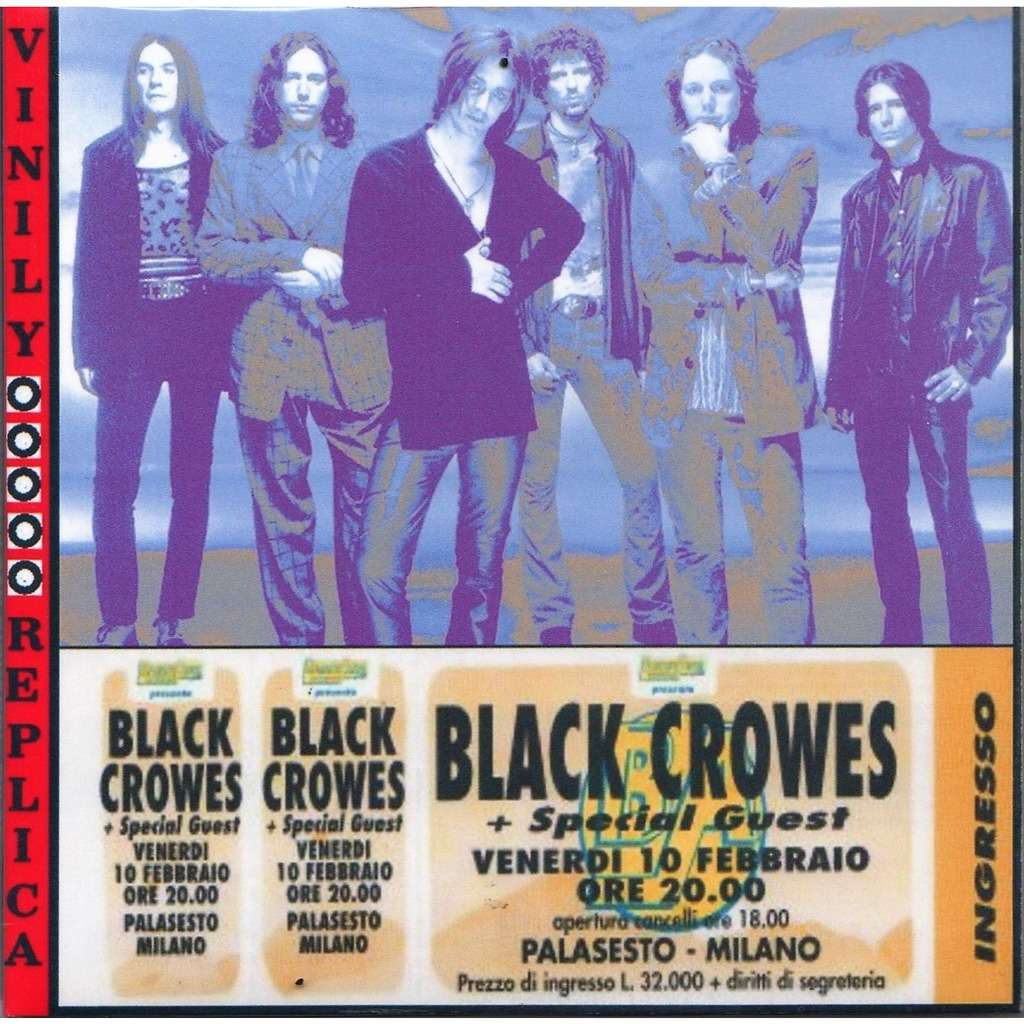 Black Crowes Live At 'Palasesto' (Sesto San Giovanni-Milano IT 10.02.1995)