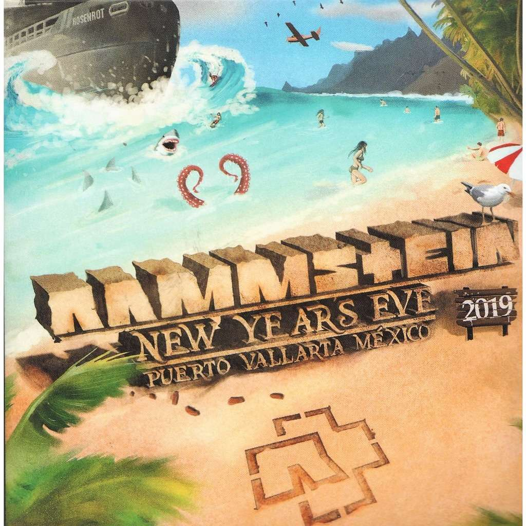 Rammstein Live in Mexico (PUERTO Vallarta Mexico 02.01.2019)