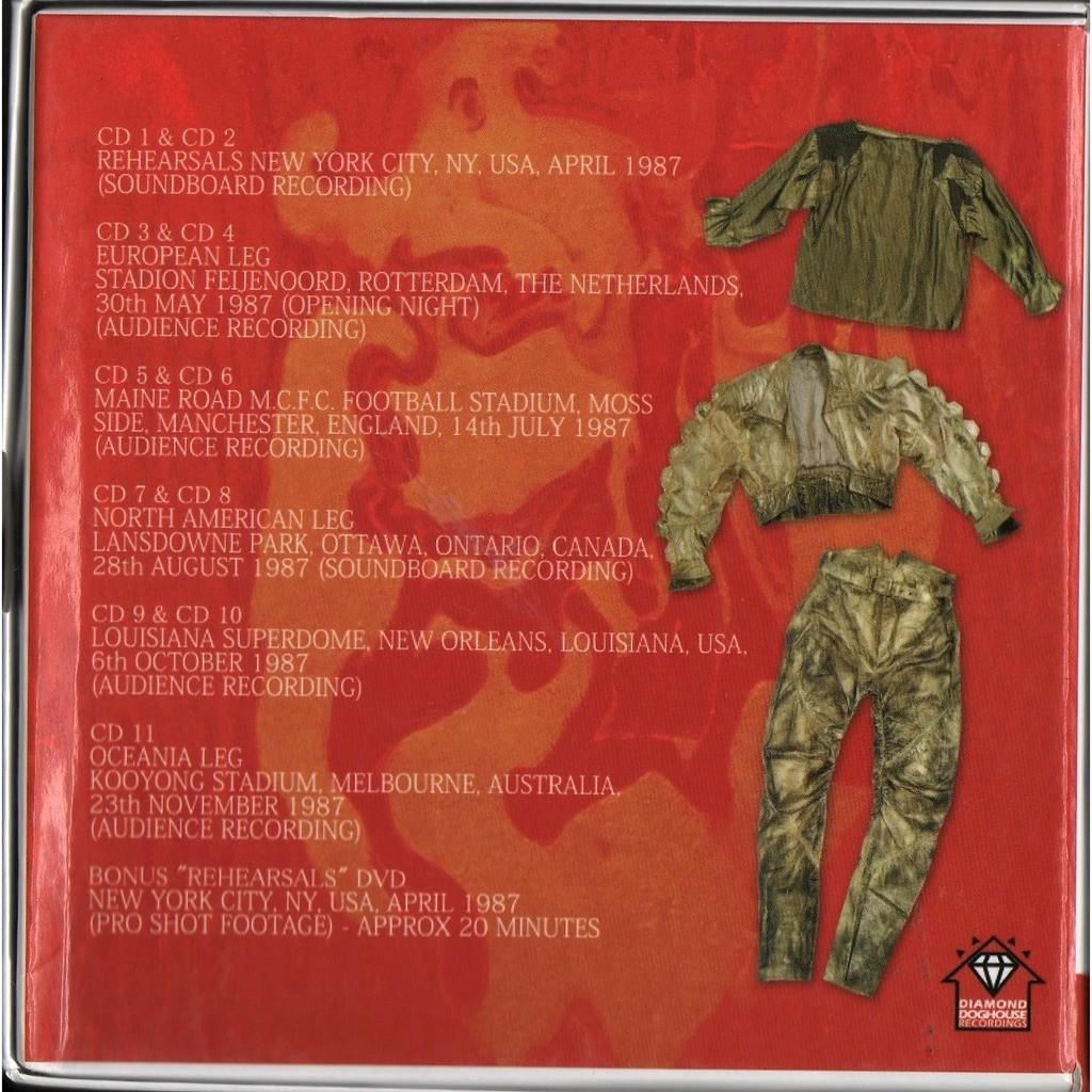 David Bowie The Glass Spider 1987 World Tour (Ltd 350 no'd copies live 11CD & DVD box set!)