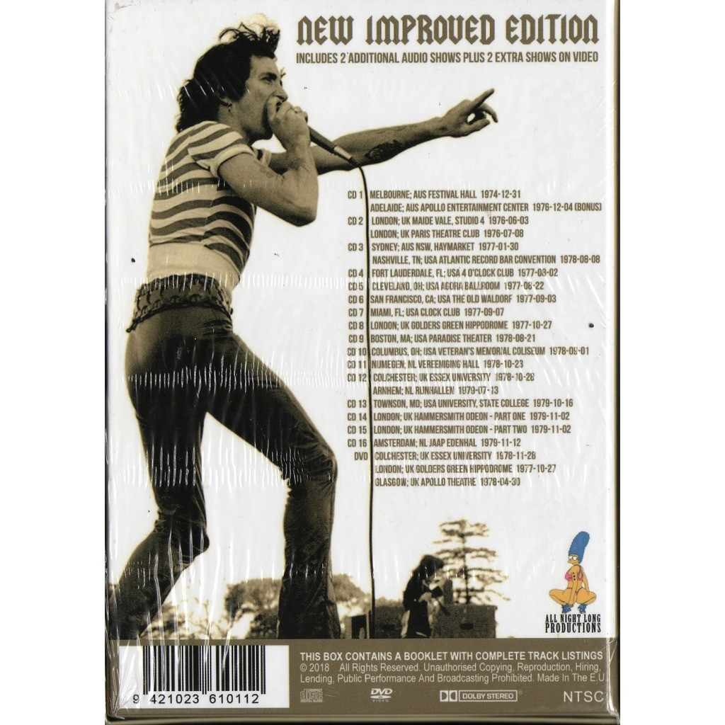 AC/DC Complete Soundboard Collection With Bon Scott 1974-79 - Revised & Expanded Edition (Ltd 300 copies)