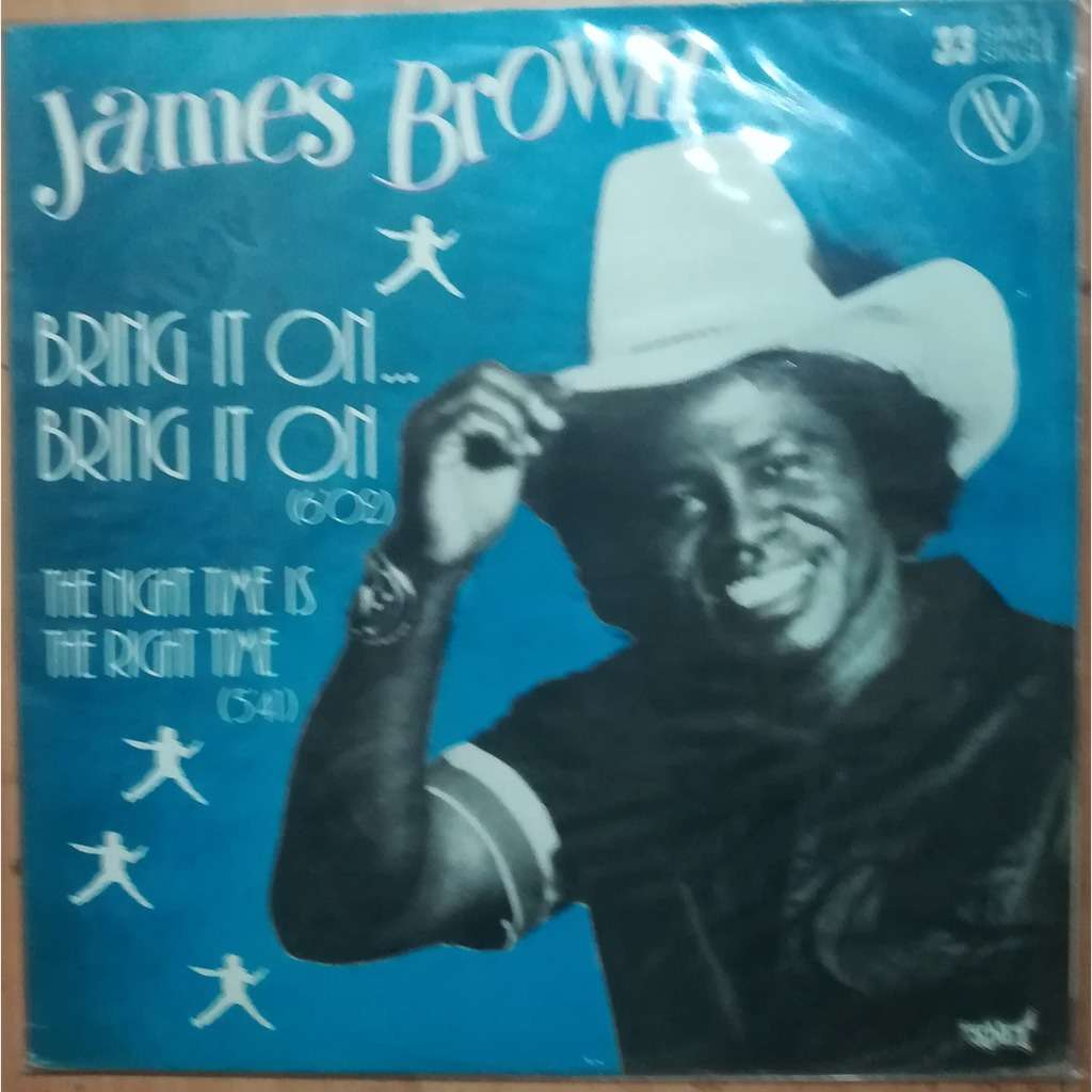 james brown bring it on...