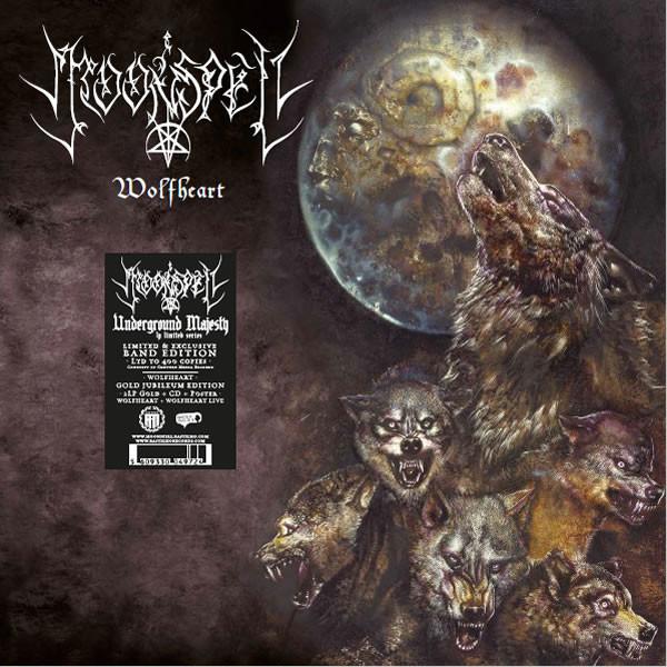 Moonspell Wolfheart (2xlp+cd) Ltd Edit To 400 Copy & Gold Vinyl With Poster -Pt