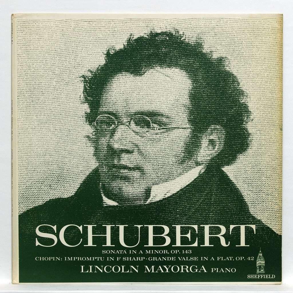 Lincoln Mayorga Schubert : Sonata in A minor op.143 / Chopin : Impromptu in F sharp op.36
