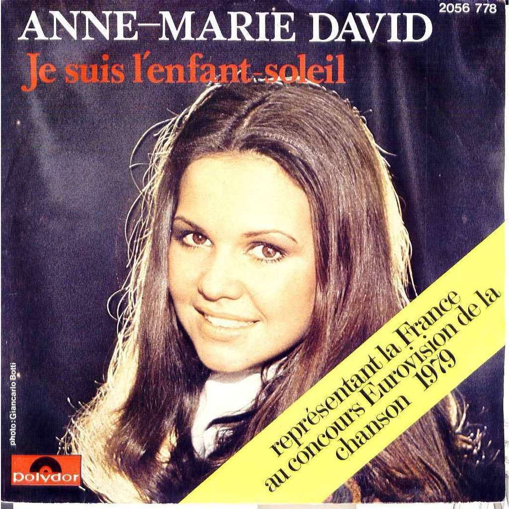 Anne Marie David Je suis l'enfant du soleil / Just like loving you