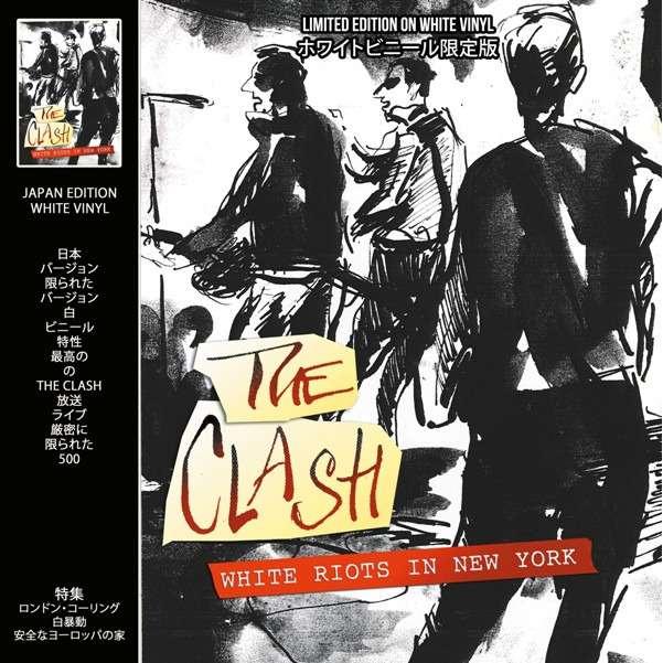 The Clash White Riots In New York (lp) Ltd Edit On White Vinyl -E.U