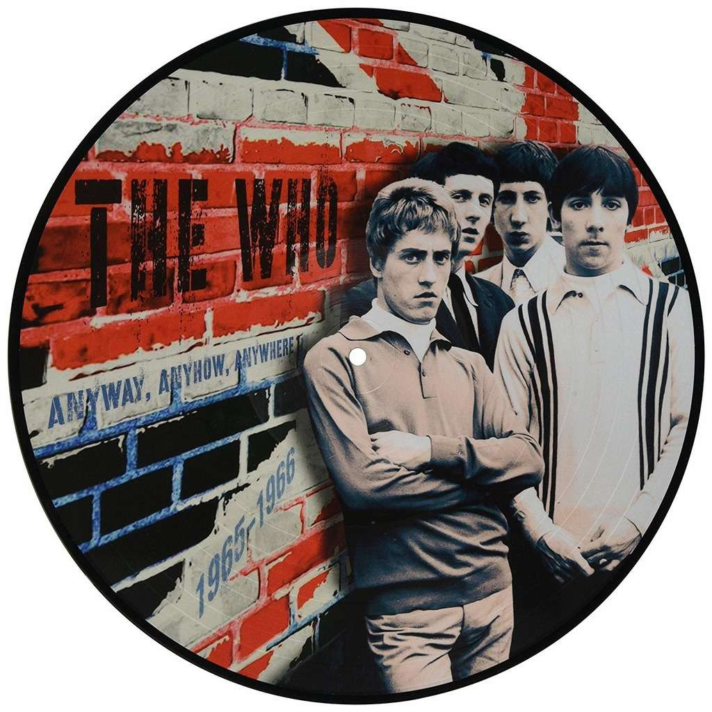 The Who Anyway, Anyhow, Anywhere 1965-1966 (lp) Ltd Edit Pict-Disc -U.K