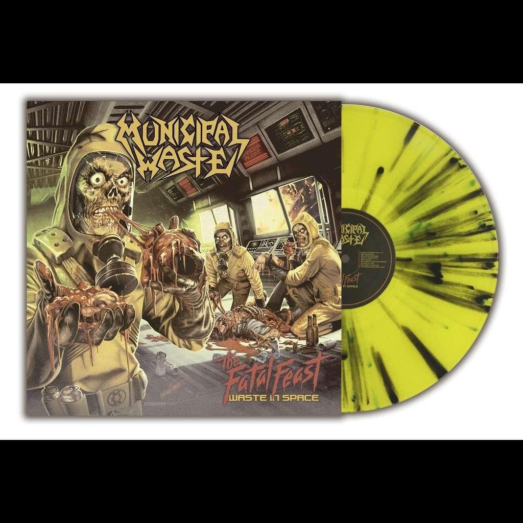 MUNICIPAL WASTE The Fatal Feast. Splatter Vinyl