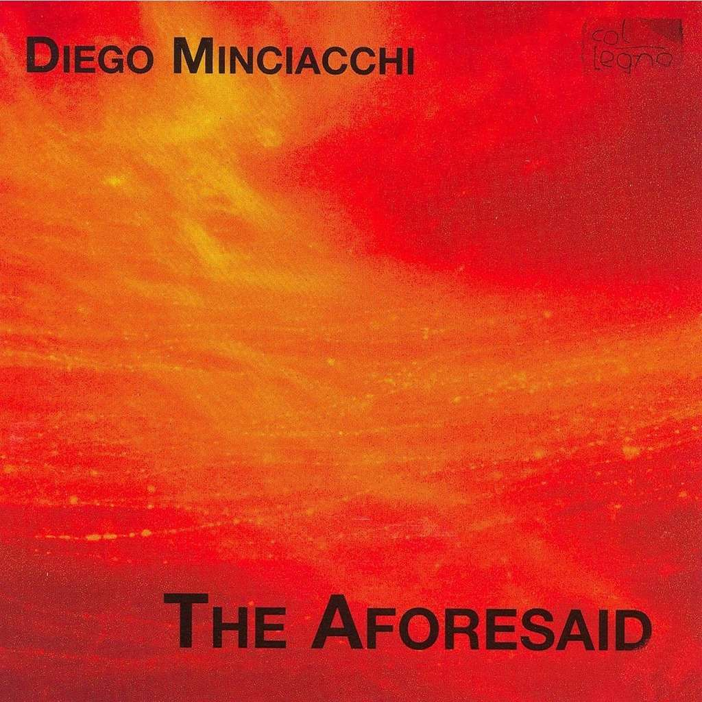Minciacchi, Diego (1955-) The Aforesaid