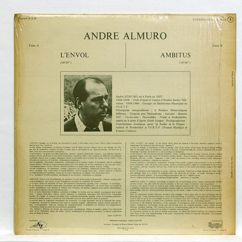 Andre Almuro L'envol Ambitus