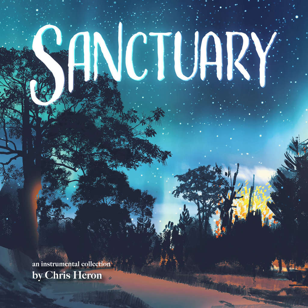 Fluttery Records : Chris Heron Sanctuary - CD