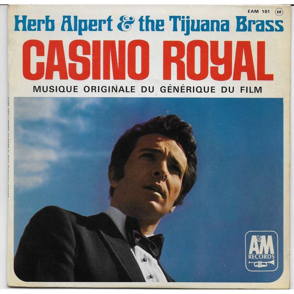 herb alpert & the tijuana brass CASINO ROYAL THE WALL STREET RAG WADE IN THE WATER I WILL WAIT FOR YOU