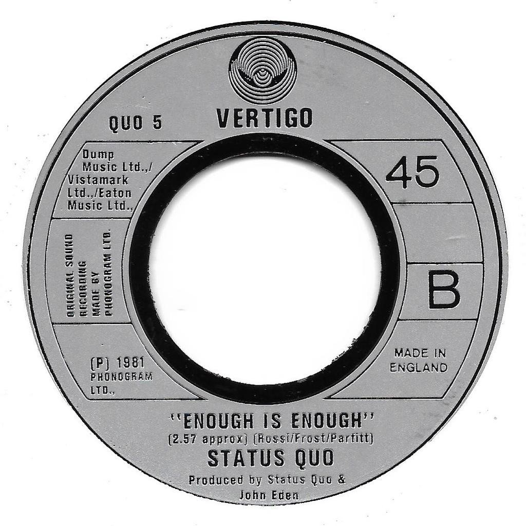 Status Quo Something 'Bout you baby i like
