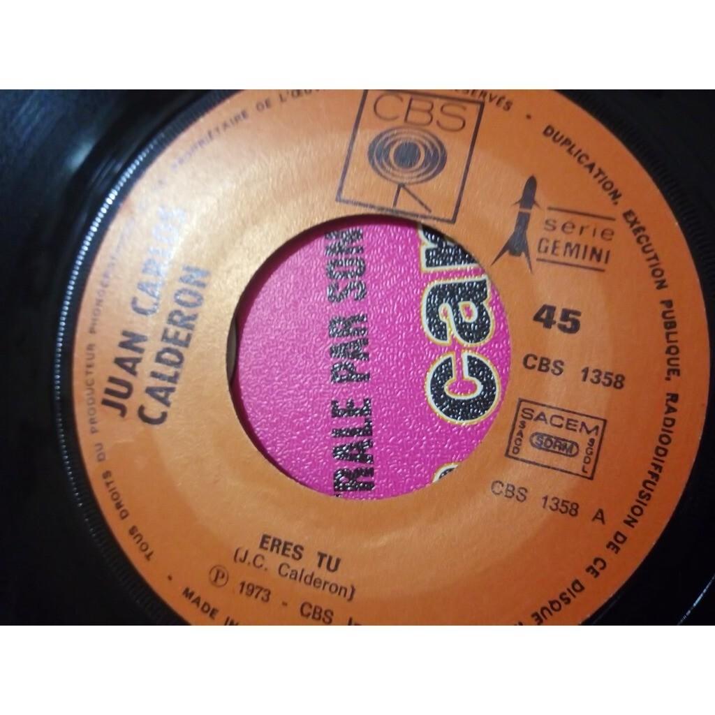 Juan Carlos Calderon eres tu (Eurovision 1973)