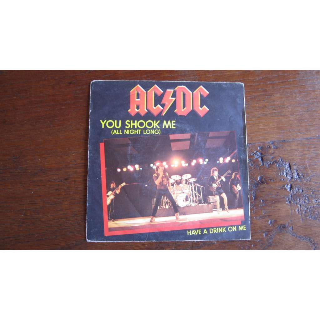 acdc you shook me